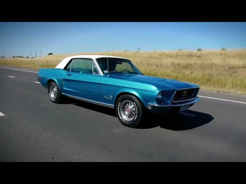 Classic Car Reviews (CCR) Ep1 1968 FORD MUSTANG COUPE