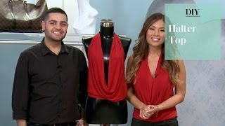 DIY: No Sew Halter Top with Michael Costello