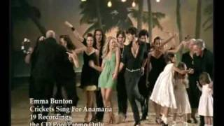 Watch Emma Bunton Crickets Sing For Anamaria video