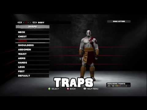 WWE 13 How To Make Kratos