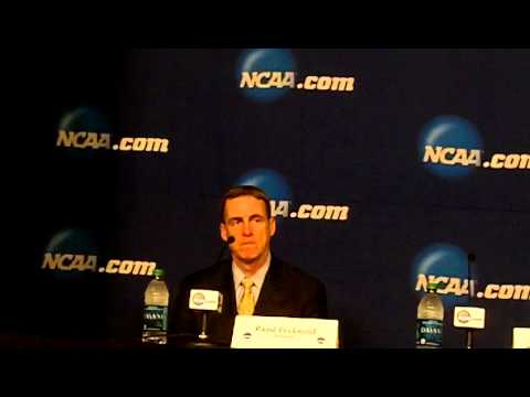 2015 NCAA Quinnipiac Post Game Press Conference vs North Dakota