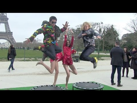 EXCLUSIVE - Derek Zoolander is back ! Ben Stiller and Owen Wilson in Paris