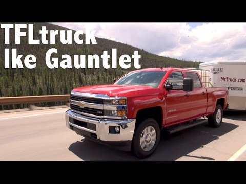 2015 Chevy Silverado 2500 takes on the Grueling Ike Gauntlet HD Towing Test