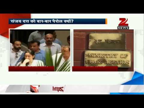 MHA seeks report from Maharashtra govt on Sanjay Dutt's parole extension