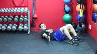 Abdominal Exercises with Resistance Band