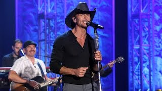 "Tim McGraw - 米The Ellen Showにて""Something Like That""をスタジオライブで披露 映像を公開 thm Music info Clip"