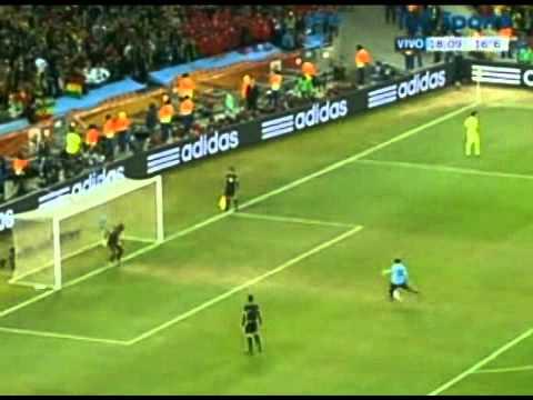 Uruguay 1 Ghana 1  goles y penales  TyC Sports