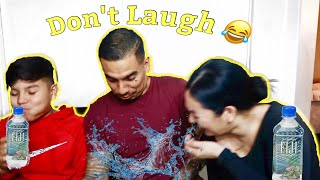 TRY NOT TO LAUGH/ DAD JOKES PART 2! Vlogmas Day 10