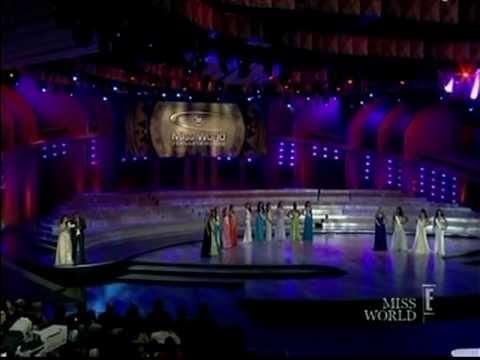 MISS WORLD 2008 Top 5 Announcement