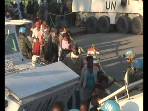MaximsNewsNetwork: HAITI: BRAZIL DELIVERS: AID, FOOD AND WATER (U.N. MINUSTAH)
