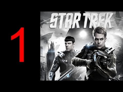 "Star Trek gameplay walkthrough part 1 let's play PS3 GAME XBOX PC HD ""Star Trek walkthrough part 1"""