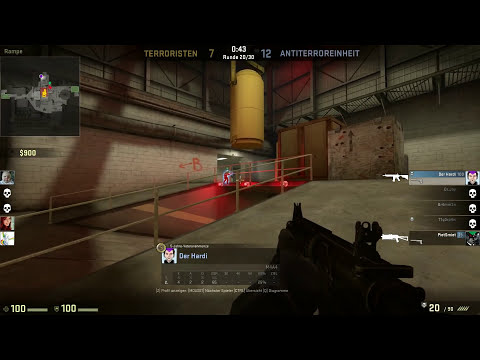 COUNTERSTRIKE # 41 - Nuke mit Br4mm3n «»  Let's Play Counterstrike GO | HD