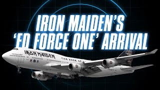 Iron Maiden's 'Ed Force One' Arrives in Brisbane [with ATC audio]