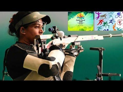 CWG 2018-Tejaswini Sawant ने भारत को दिलाया 25वां मेडल, 50 मीटर एयर राइफल प्रोन में जीता सिल्वर