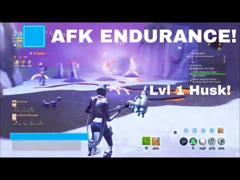 AFK Endurance Glitch *lvl 1 husk* Fortnite Save The World