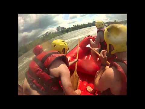 Nile White Water Rafting, Uganda Jun14