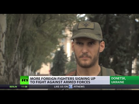 'For a good cause': Foreign fighters join anti-Kiev militia in E. Ukraine