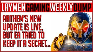 The Laymen Gaming Weekly News Dump - Sat 10th Aug