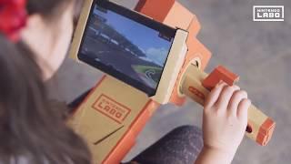 Nintendo Labo Gameplay - Toy Con 01 Variety Kit Mini-game Gameplay