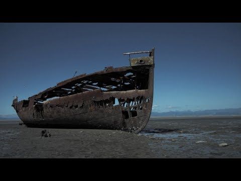 Urban Exploration - Janie Seddon Shipwreck (Motueka, New Zealand)