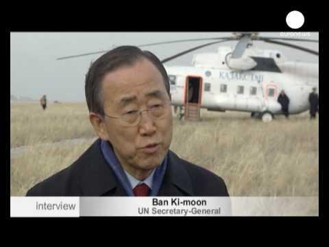 Ban Ki Moon interview