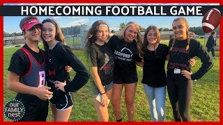 HOMECOMING FOOTBALL GAME! SO MUCH CRAZINESS!