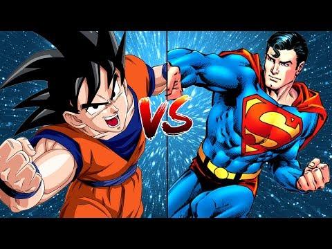 Goku vs Superman | Dragon Ball Z (DBZ) vs New 52