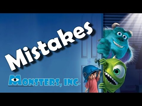 Monsters Inc. Movie Mistakes, Goofs and Fails Part 1