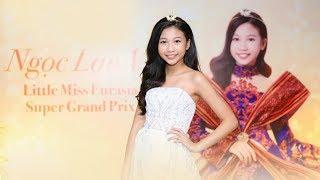 Hoa hậu hoàn vũ nhí Ngọc Lan Vy không sợ cám dỗ trong showbiz