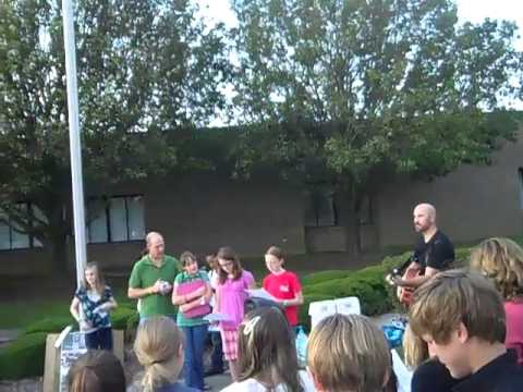 See You at the Pole 2011 Toisnot Middle School Wilson, NC