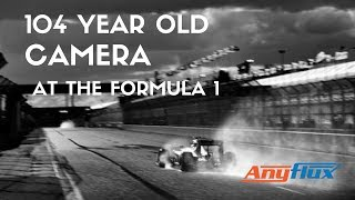 Photographer Shoots Formula 1 With 104-Year-Old Camera
