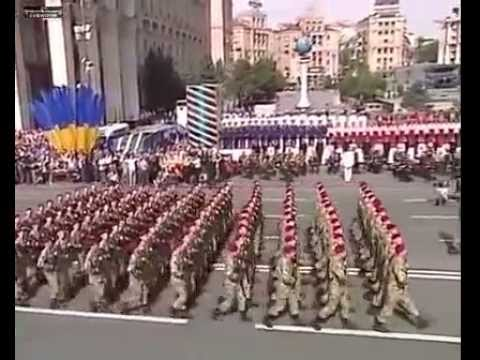 Ukraine Independence Day Military Parade  in Kiev   Aug 24, 2014
