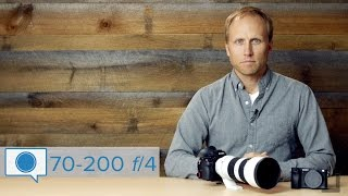 Hands on with the Sony 70-200 f/4 - Best 70-200 for travel?
