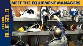 Buffalo Sabres Equipment Managers | Beyond Blue & Gold