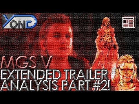 Metal Gear Solid V - Extended Trailer Analysis #2! Liquid Snake, Paz, Code Talker, and More!