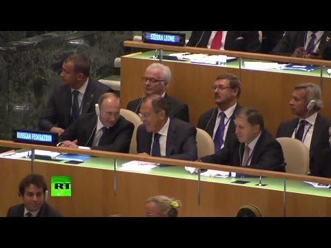 Владимир Путин прибыл в штаб-квартиру ООН
