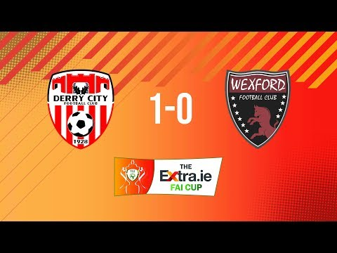 Extra.ie FAI Cup First Round: Derry City 1-0 Wexford