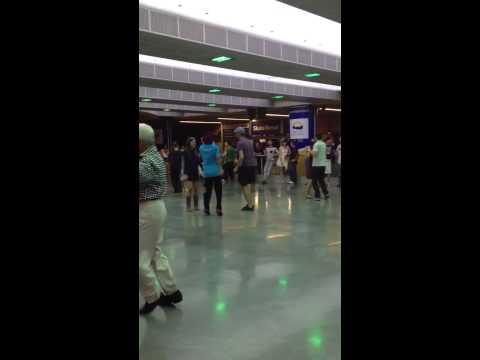 Desi baba ballroom dancing