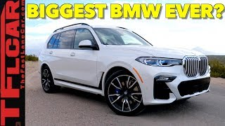 2019 BMW X7 Review: Top 10 Things You Need to Know About the New Supersized 7-Passenger BMW X5!
