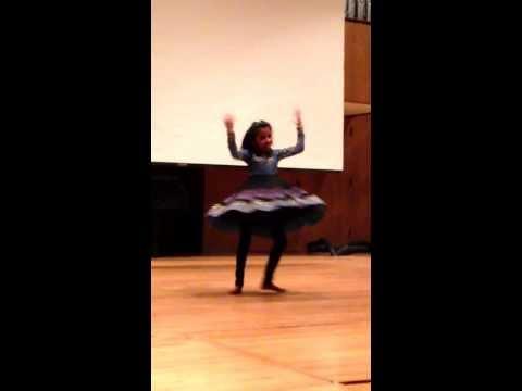 Aamani Kalluru on Republic Day(India) Celebrations -Jan 25, 2014, MS USA