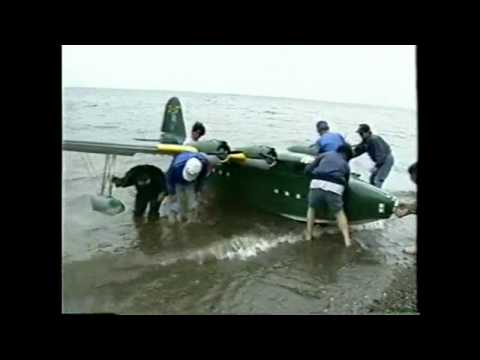 Worlds largest radio control flying boat plane