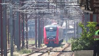 CPTM Testes do 9596 D596 Train MTR Hyundai Rotem Tests