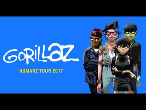 Gorillaz - Tomorrow Comes Today Live 2017 [Humanz Tour 2017 - BEST QUALITY]