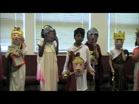 Mars Hill Academy 2nd Grade Greek Plays
