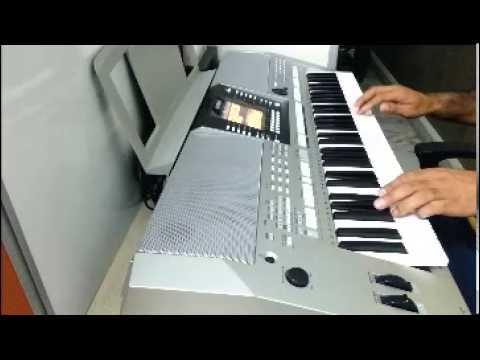 Mere Rang Mein Rangne Wali on Yamaha Keyboard PSR-S910