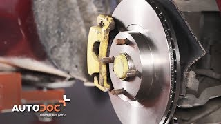 How to replace front brake discs and brake pads MAZDA MX-5 TUTORIAL | AUTODOC