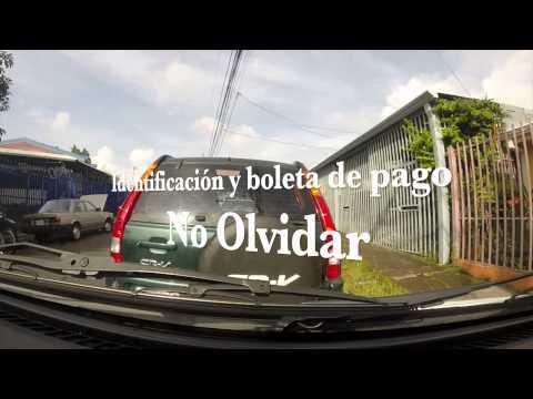 Trámite - Licencia de conducir prueba teórica en Costa Rica