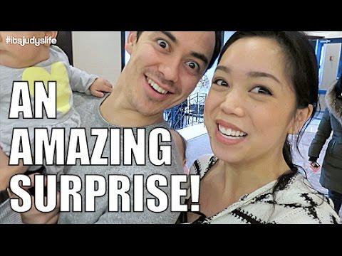 An Amazing Surprise!- February 15, 2015 ItsJudysLife Vlogs