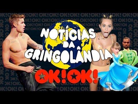 Justin Bieber Chupando Mamilos, Taylor Swift Amaldiçoada E Miley Cyrus Pelada (que Novidade) video