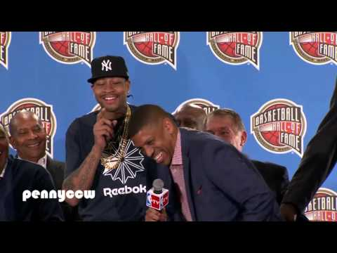 Kevin Johnson says Allen Iverson is the reason why he retired from the NBA (2016)